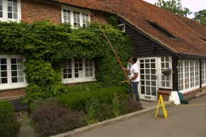 Step 2 - Make sure the Window Cleaning in Ascot works safely